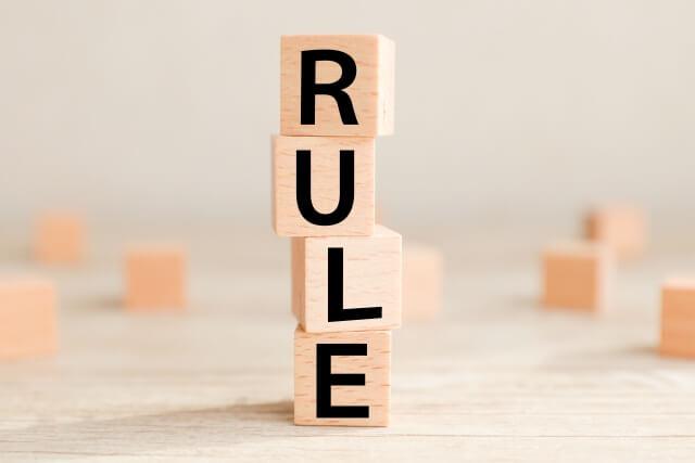 ルール・規約